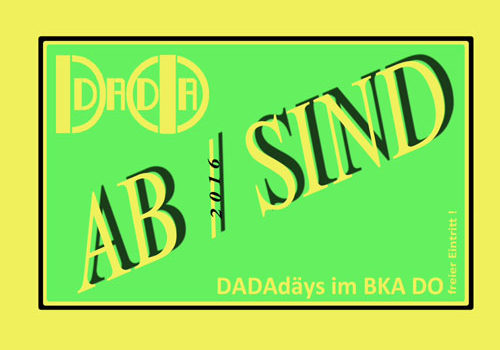 DADAismus im Baukunstarchiv NRW
