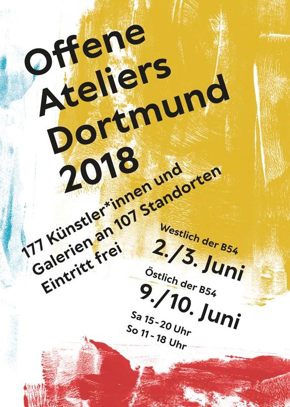 Flyer Offene Ateliers 2018